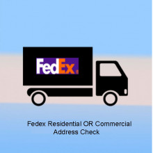 Magento 2 - Fedex Residential OR Commercial Address Check