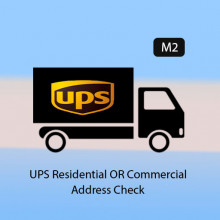 Magento 2 - UPS Residential OR Commercial Address Check